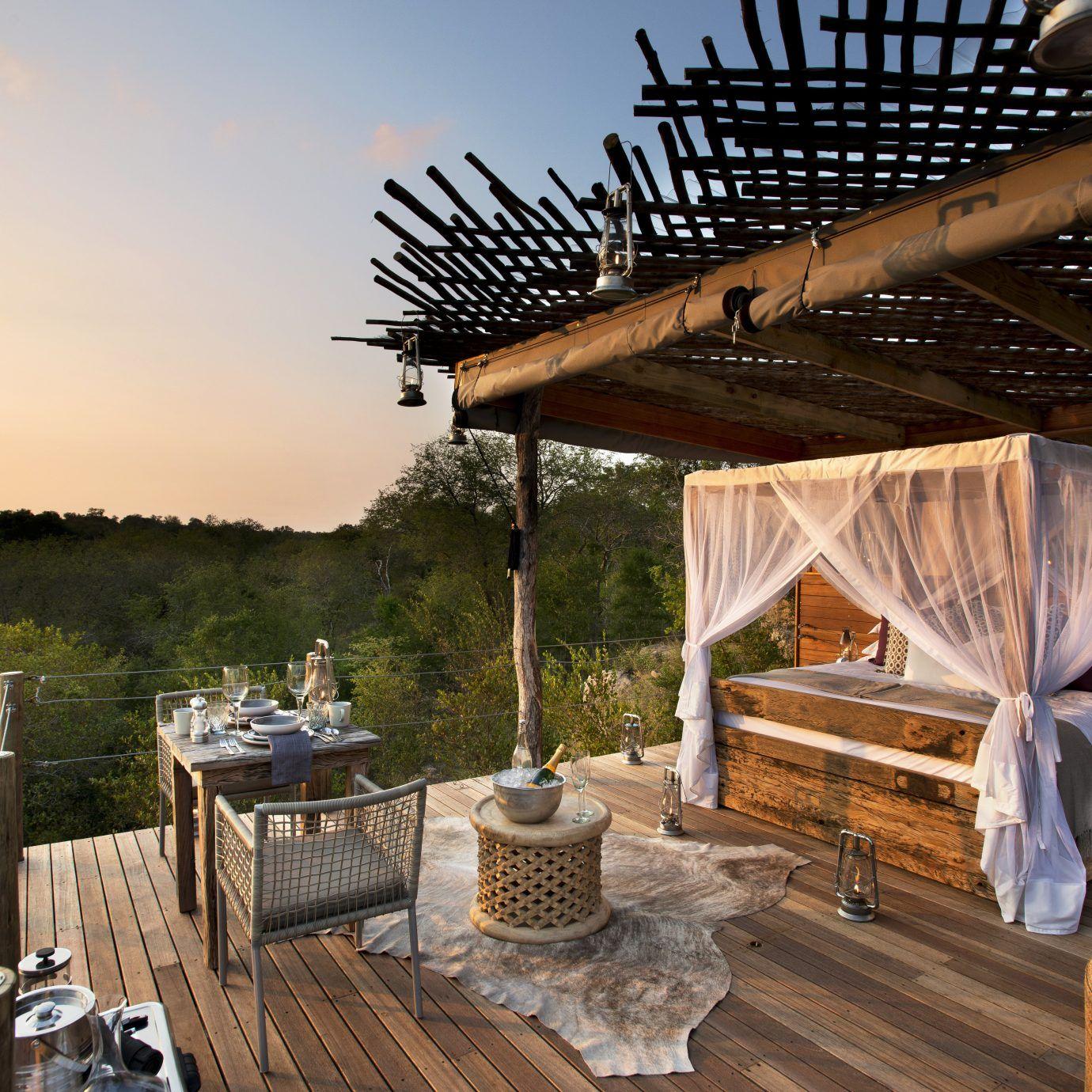 Lion Sands Sabi Sand (South Africa Outdoor bedroom