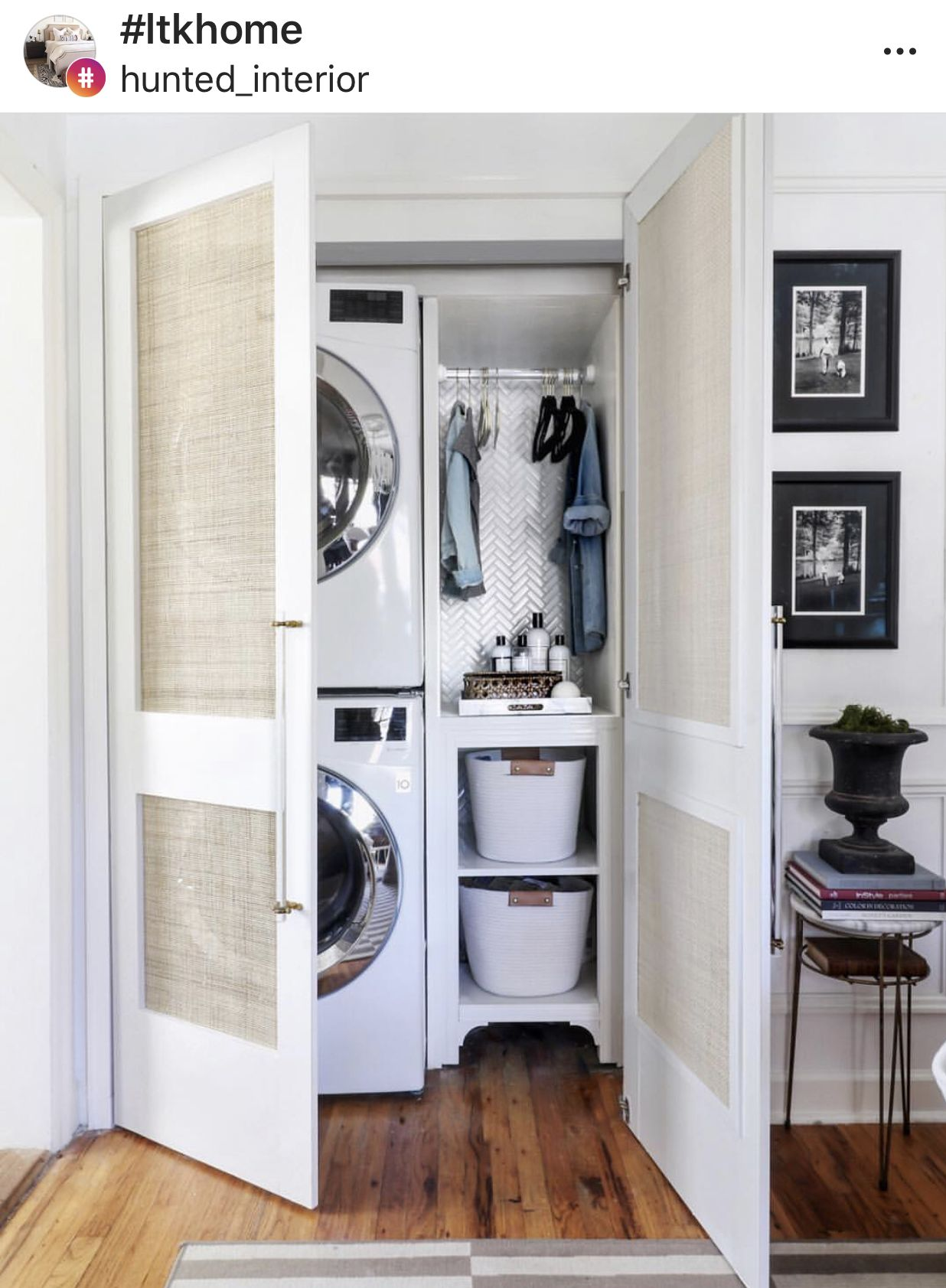 Pin by wayneen driscoll on organizing Laundry room closet