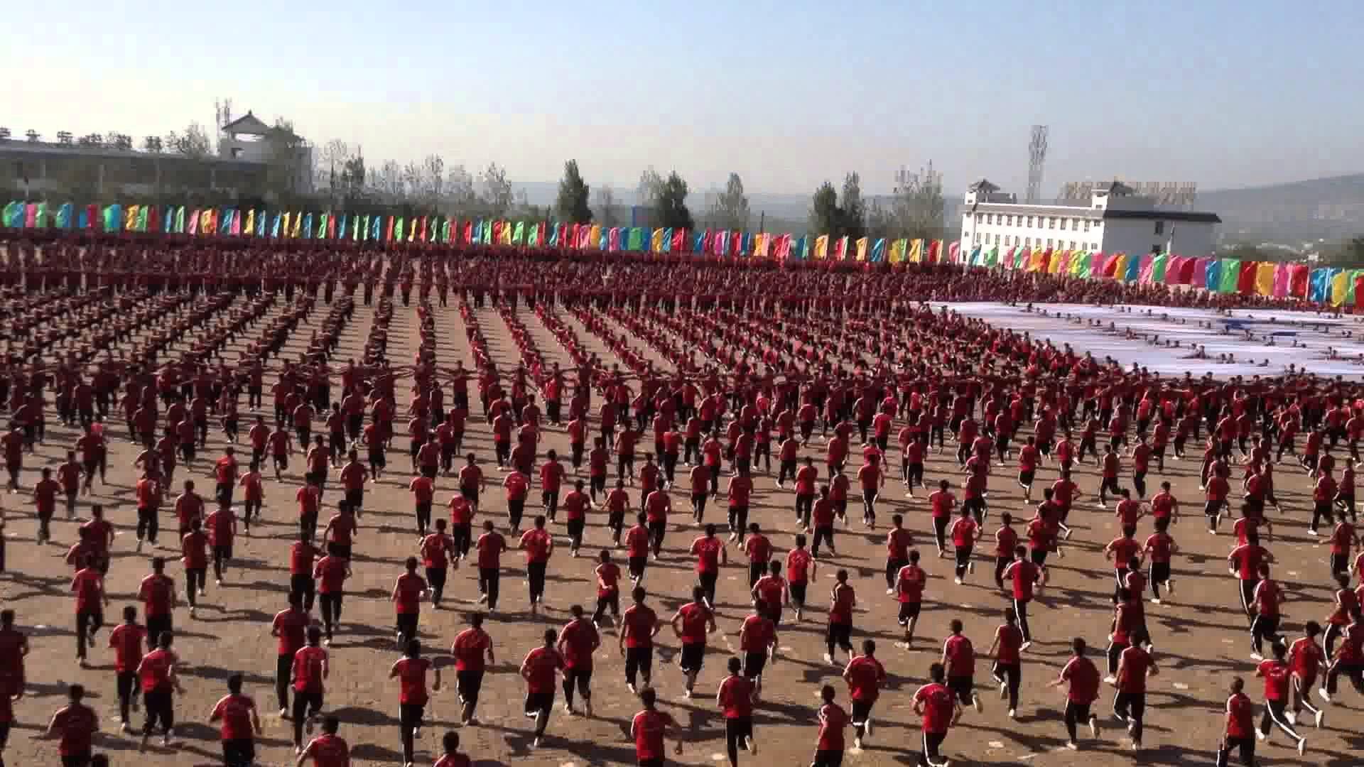 Kunfu academy china near the shaolin temple tagou