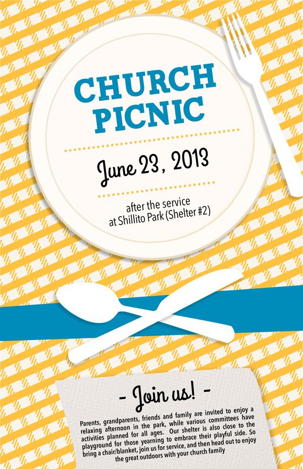 Church Picnic By Marrianne Russell Via Behance Church Upgrade
