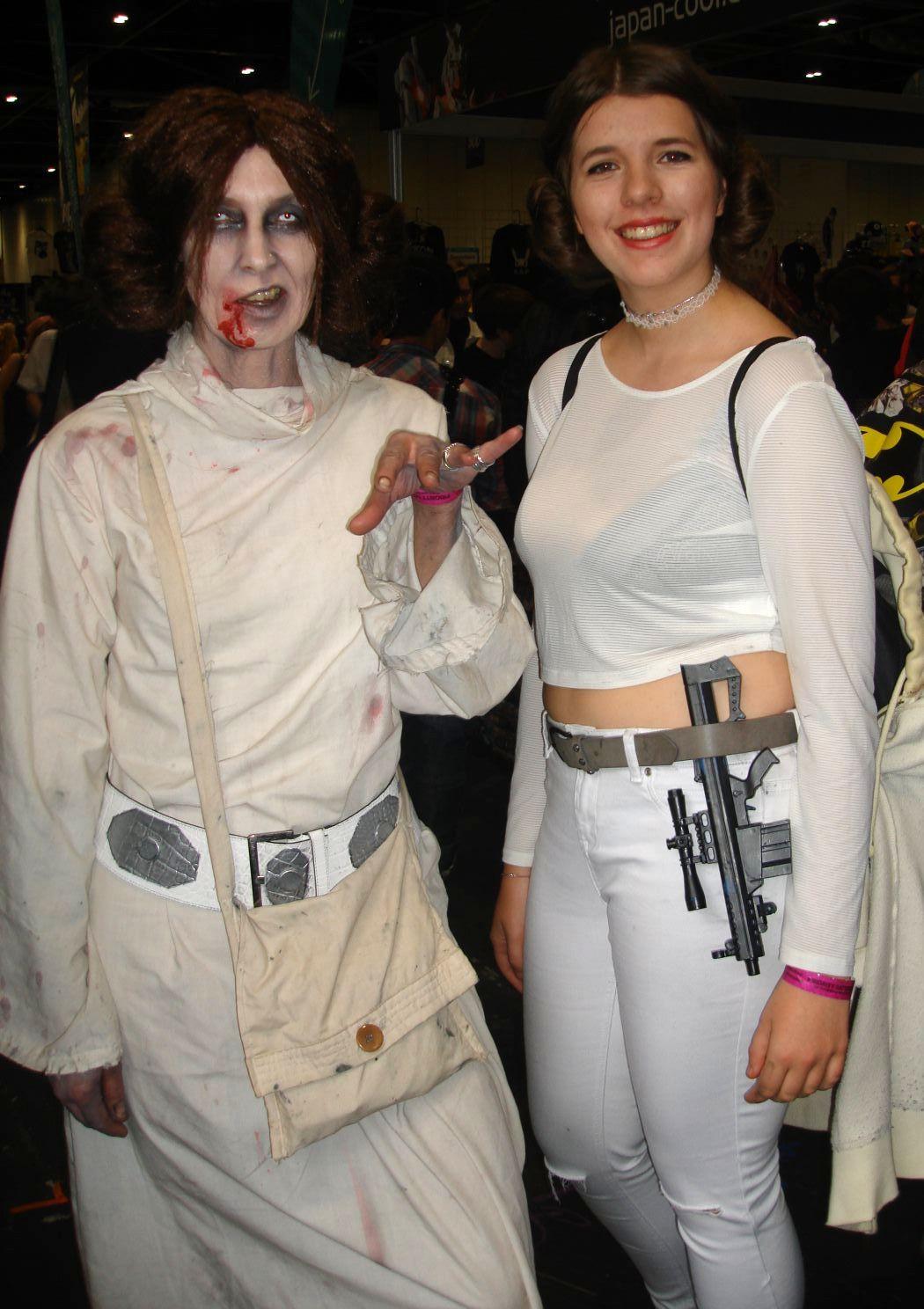 Zombie Princess Leia & Leia - MCM Comic Con London October 2015