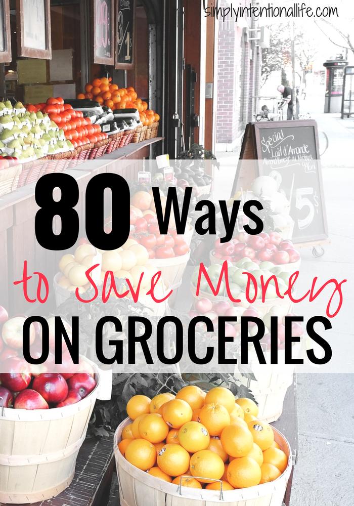 So sparen Sie Geld bei Lebensmitteln: 80 Tipps zum Geldsparen