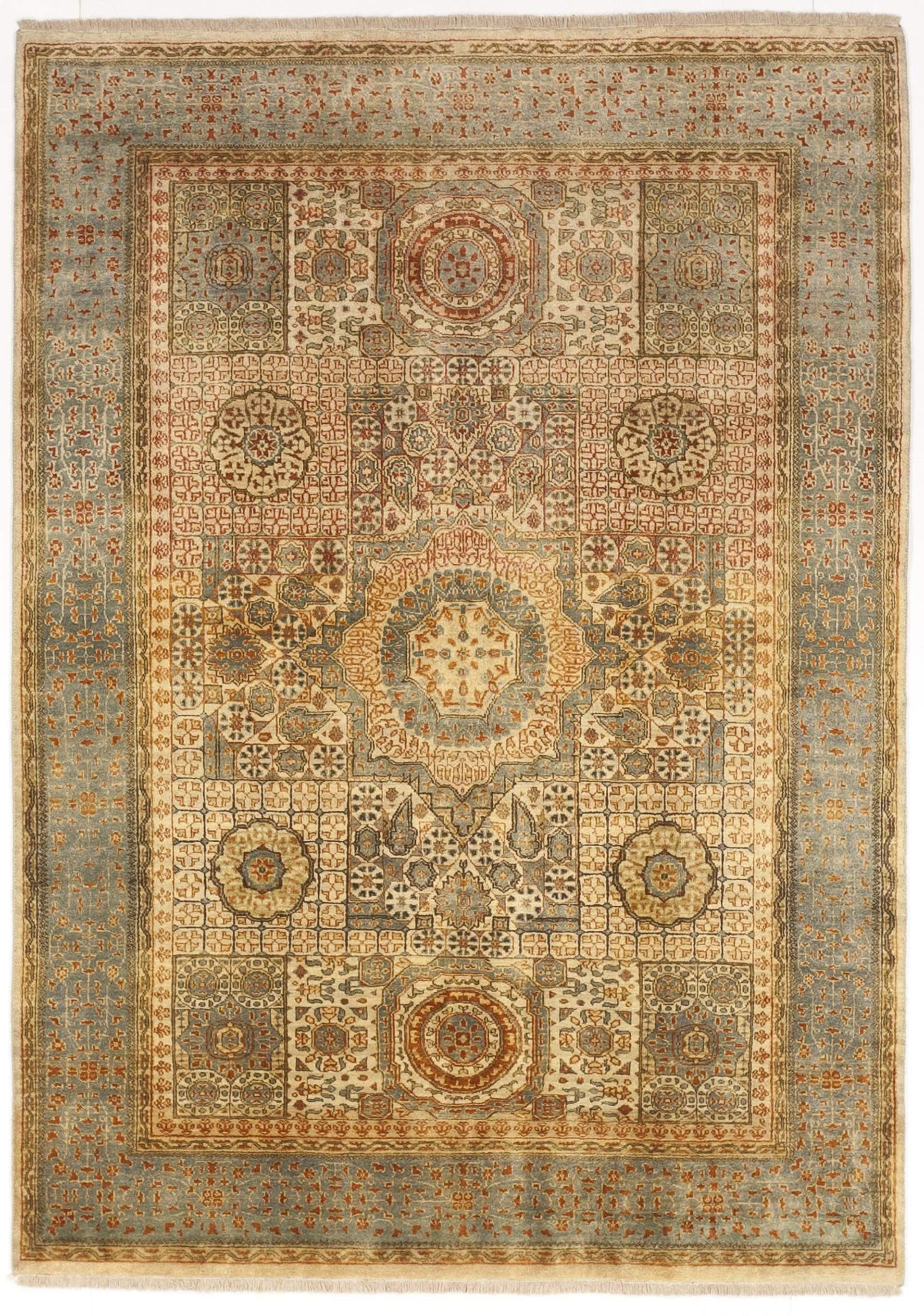 Hand Knotted Indian Mamluk Rug 5 4 X 7 5 On Chairish Com In