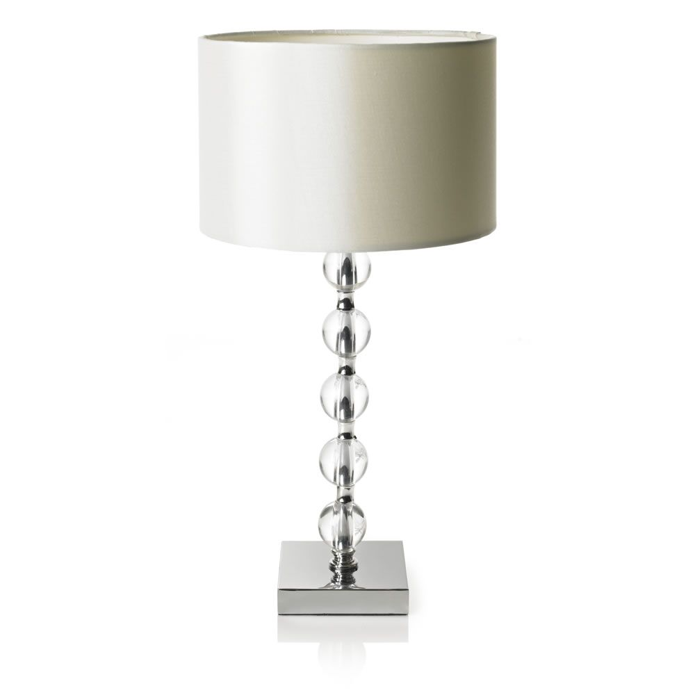 Wilko acrylic 5 ball table lamp grey master bedroom pinterest wilko acrylic 5 ball table lamp grey geotapseo Choice Image