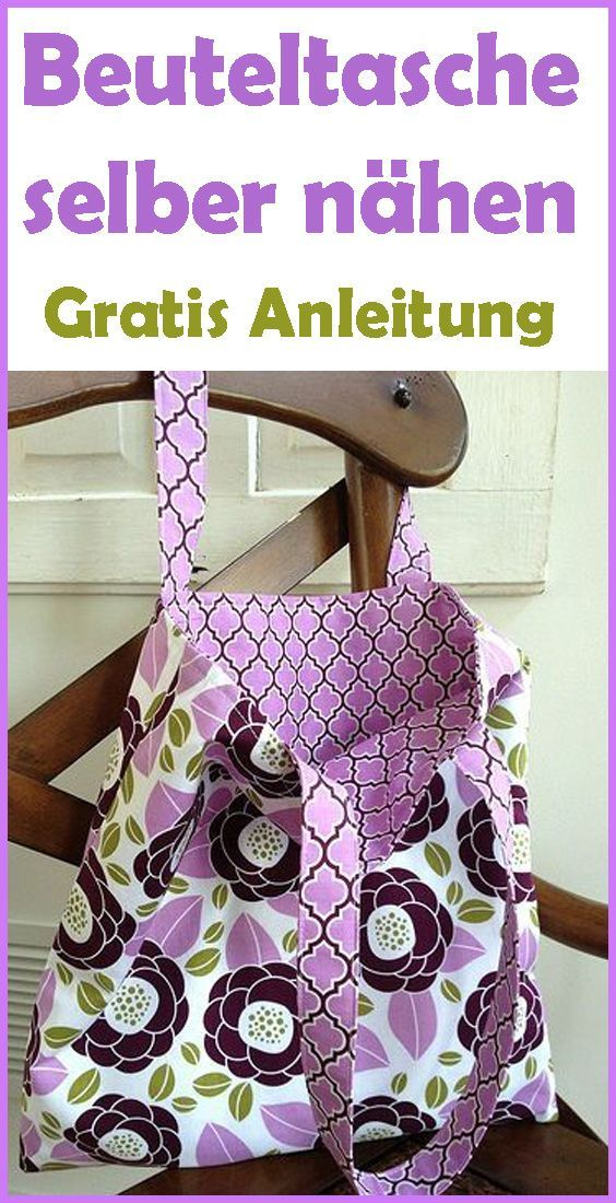 Photo of Sewing bag – free pattern & instructions – small balcony ideas