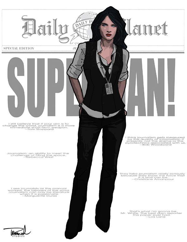 Lois Lane by tsbranch.deviantart.com on @deviantART