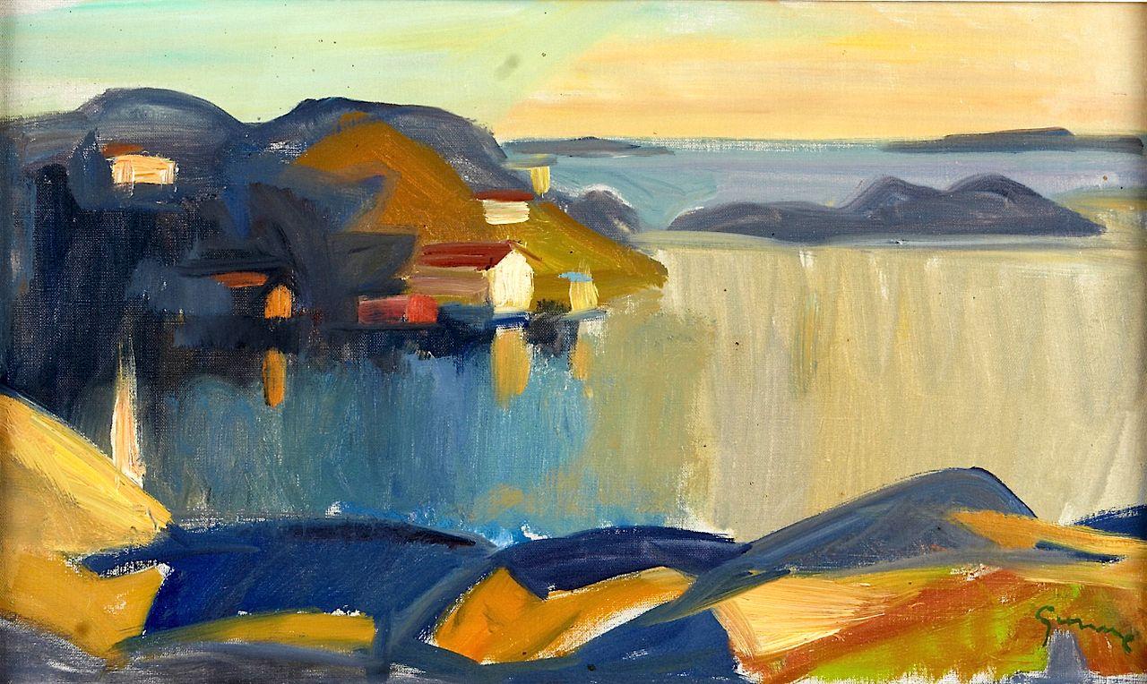 GUNNE, Carl (1893-1979)/ Evening in August