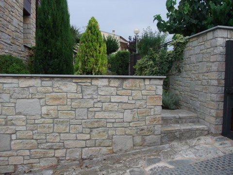 Muro de piedra lousa buscar con google ambientacion - Muro de piedra natural ...