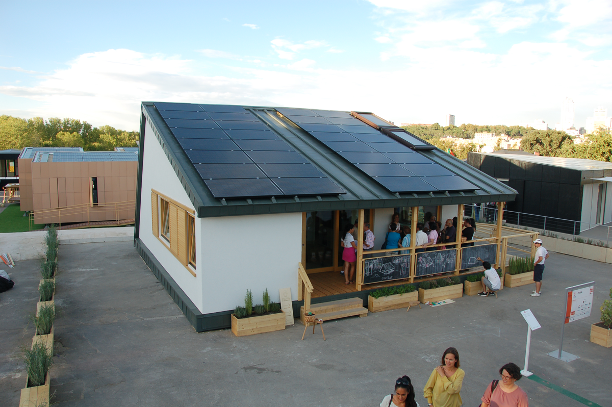 In 2012, Saint Gobain Completed Work On The Build Of A Positive Energy House