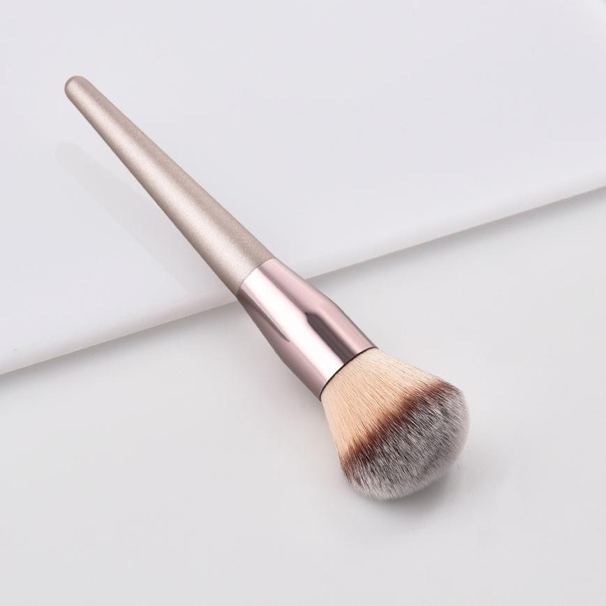 Neue frauen Mode Pinsel 1 stück Holz Foundation Kosmetische Augenbraue Lidschatten Pinsel Make-Up Pinsel Sets Werkzeuge Pincel Maquiagem – a