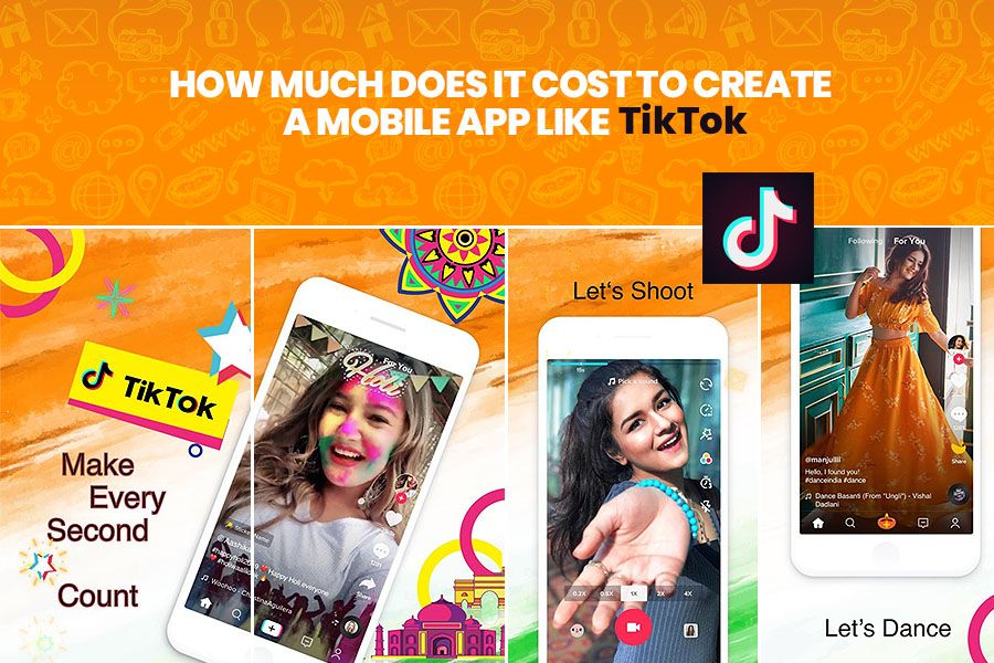 How Much Does It Cost To Create An App Like Tiktok App Development Companies App Development Content Delivery Network