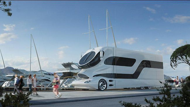 Mansion On Wheels 2 9m Pimped Up Motorhome Luxury Rv Luxury