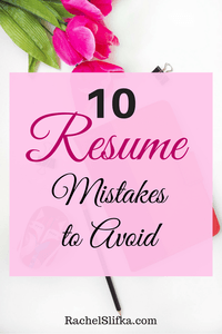 Resume Mistakes To Avoid  Personal Finance Saving Money And