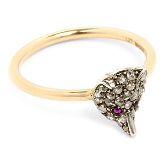 eda2528019508 Tiffany T 18ct rose-gold and diamond wire ring | Jewellery | Silver ...