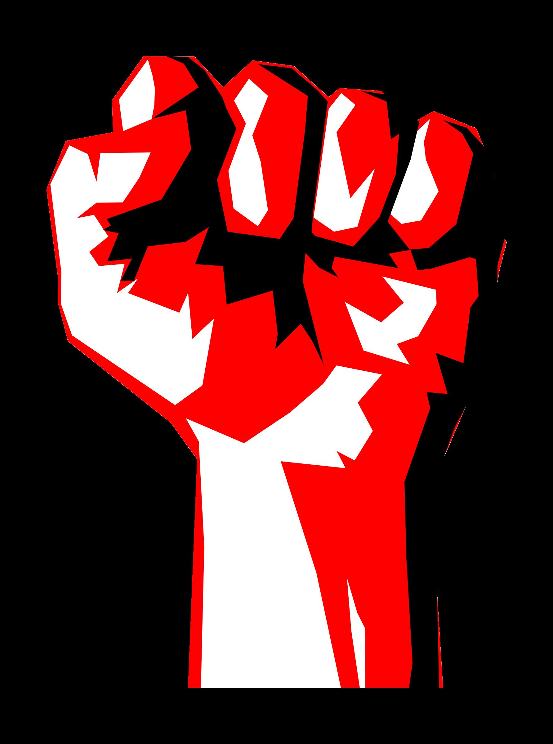 Worker Fist Raised fist, Revolution, Online art