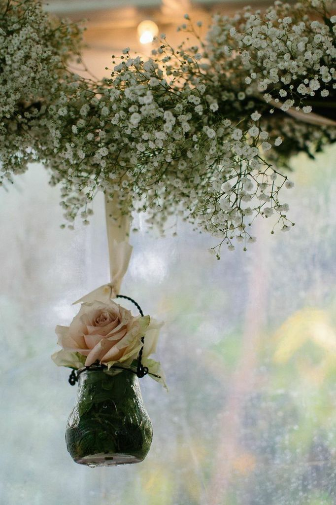Burlap and Burgundy New York Wedding at Shadow Lawn - MODwedding
