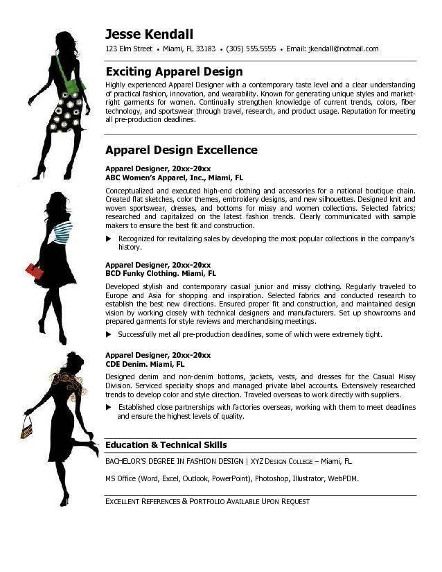 Fashion Stylist Resume Objective -   wwwresumecareerinfo