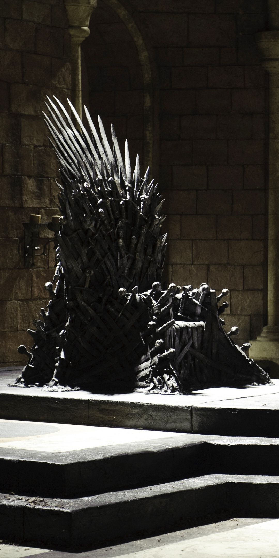 Iron Throne Game Of Thrones 1080x2160 Wallpaper Com Imagens