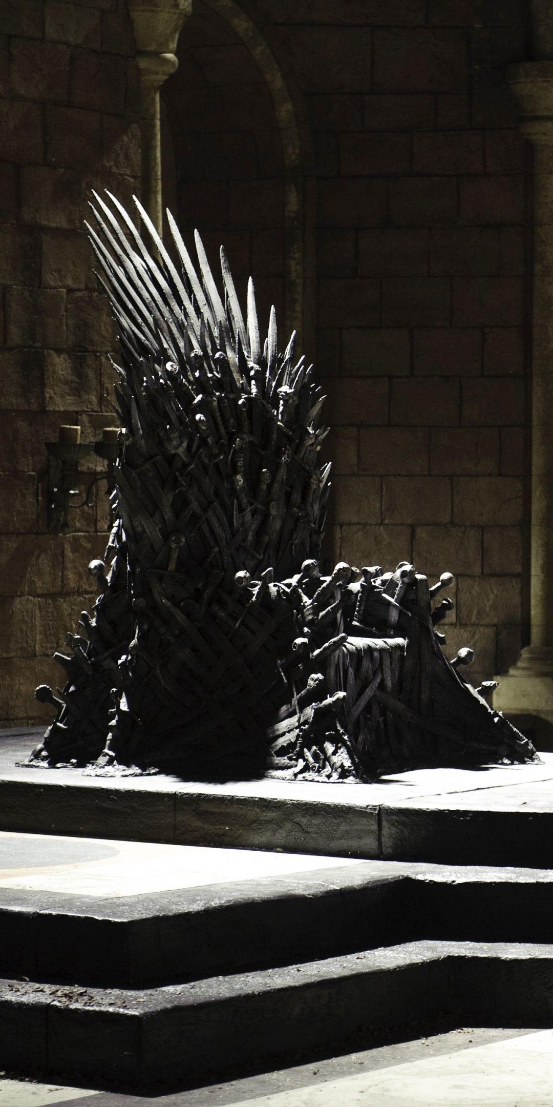 Iron Throne Game Of Thrones 1080x2160 Wallpaper Com Imagens