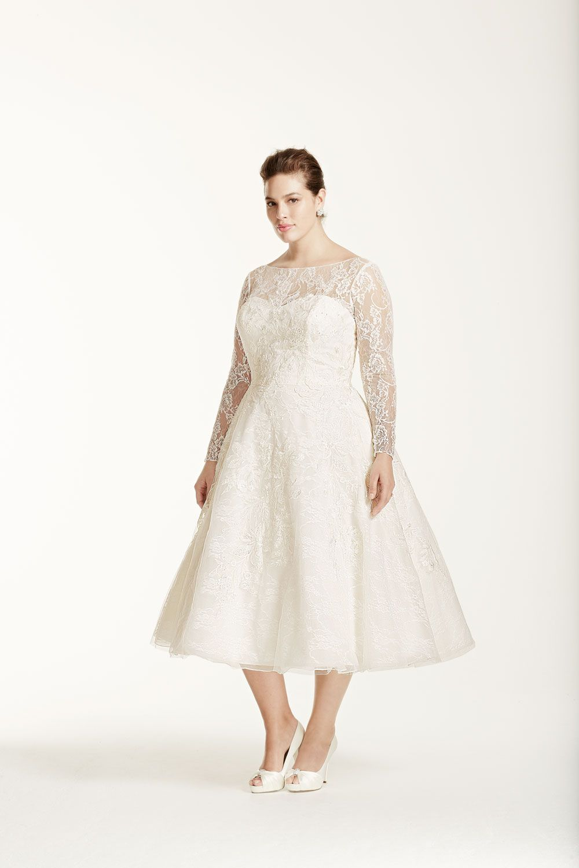 20 plussize wedding dresses tea length dresses