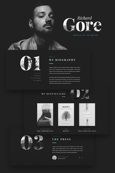 #blog #design #portfolio #webdesign #wordpress #templates #theme #writ