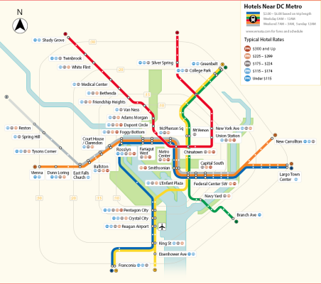 Things To Do On The Dc Metro Blue Line Hotel Listings Capital
