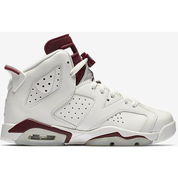 buy popular d102b 6b792 Air Jordan 6 Retro OG (3.5y-7) Kids  Shoe. Nike.com ( 140) ❤ liked on  Polyvore featuring shoes and sneakers