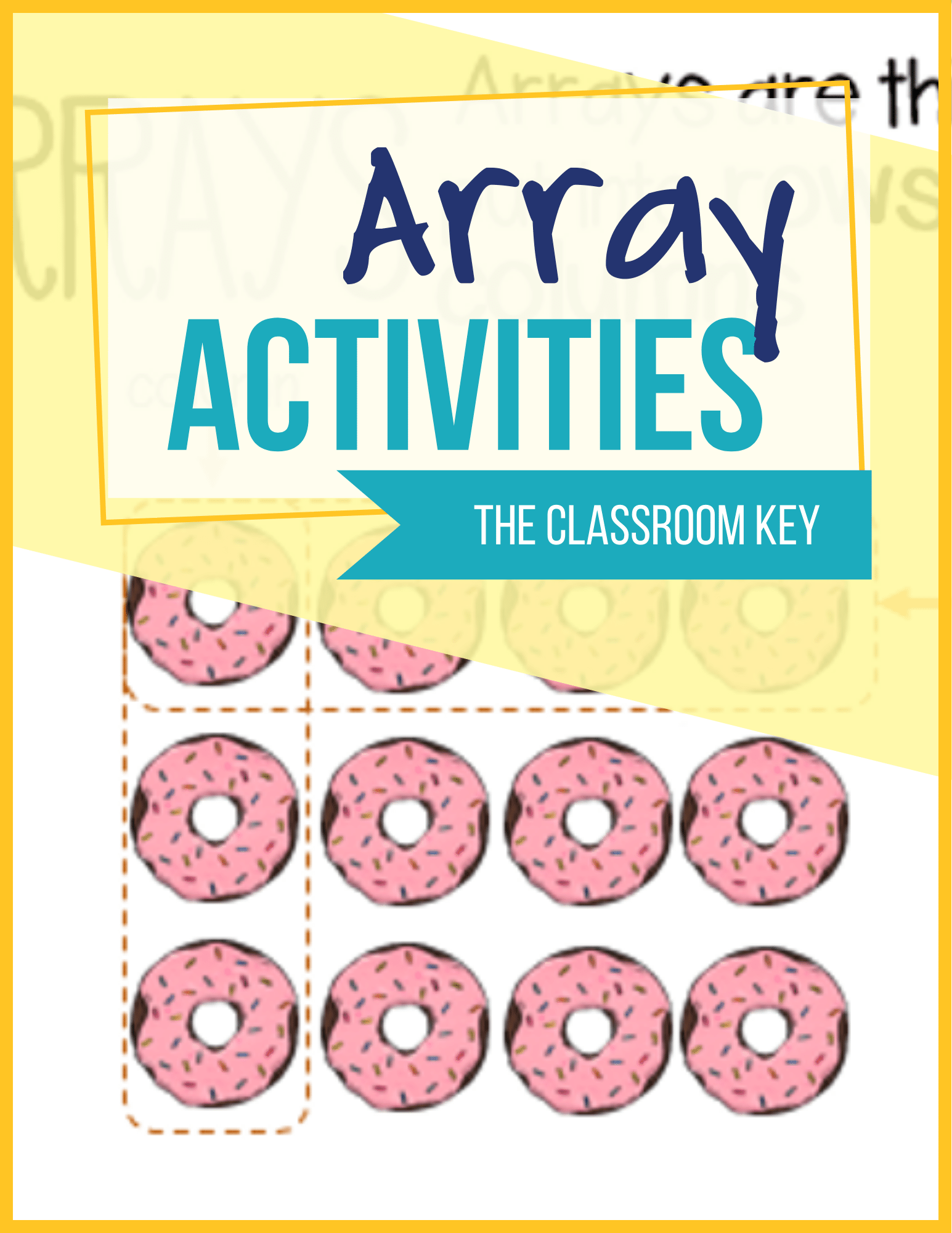 Array Activities In With Images