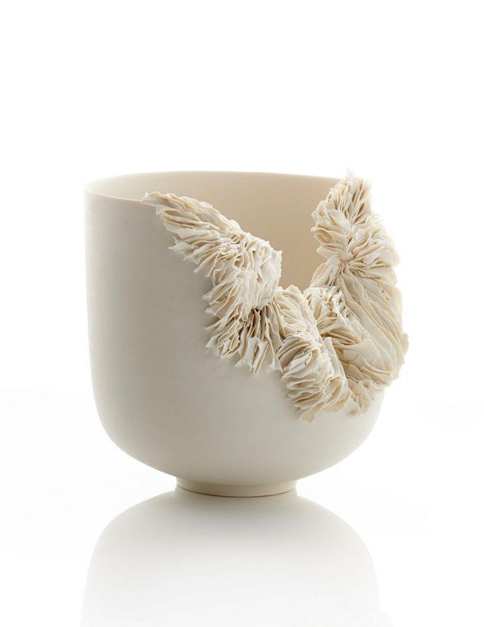 Ceramics By Olivia Walker Photo By Sylvian Deleu Ldf17 Londondesignfestival Ceramic Texture Organic Ceramics Pottery Designs