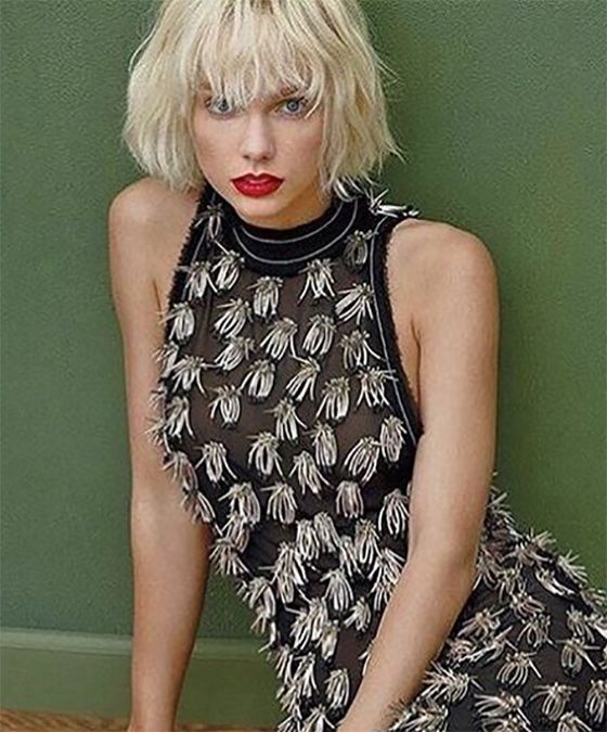 50 Layered Hairstyles With Bangs Taylor Swift Bleached Hair Short Blonde Hair Layered Hair With Bangs