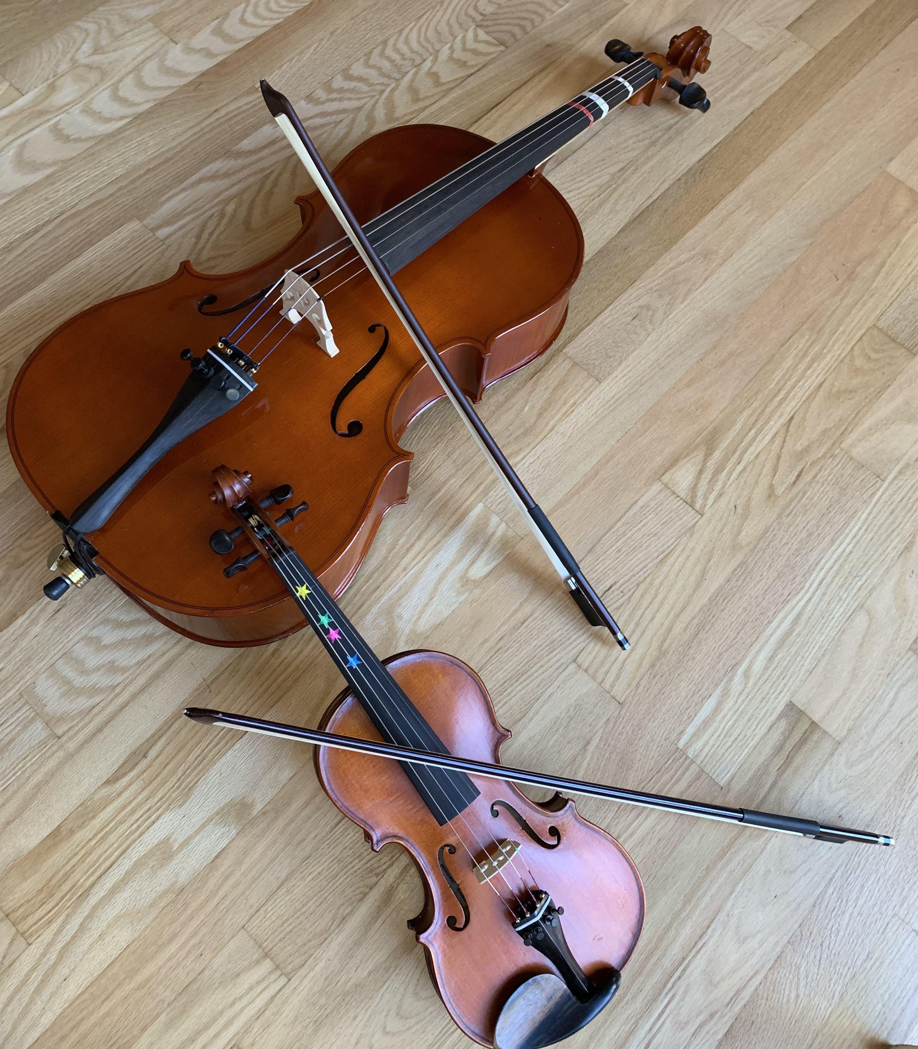 Stuck pegs? Use my Pegpal on violins, violas and cellos