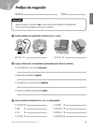 Refuerzo lengua 4º de primaria | Escuela | Pinterest | Lengua ...