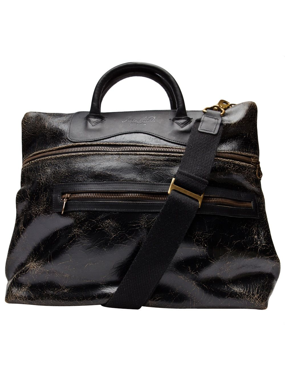 Jas M B Ed Leather Bag