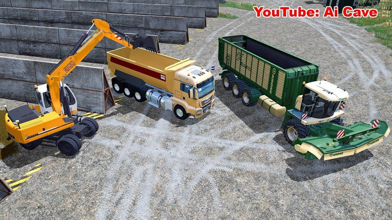 How to Produce Grass Silage Fast & Easy - Farming Simulator