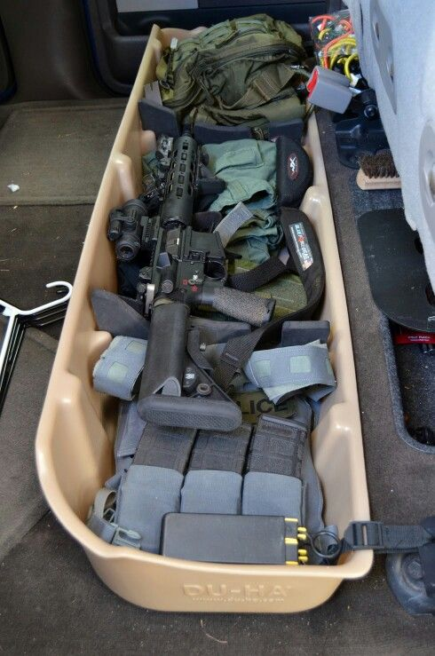 Under Seat Bugout Gear Tactical Truck Bug Out Vehicle
