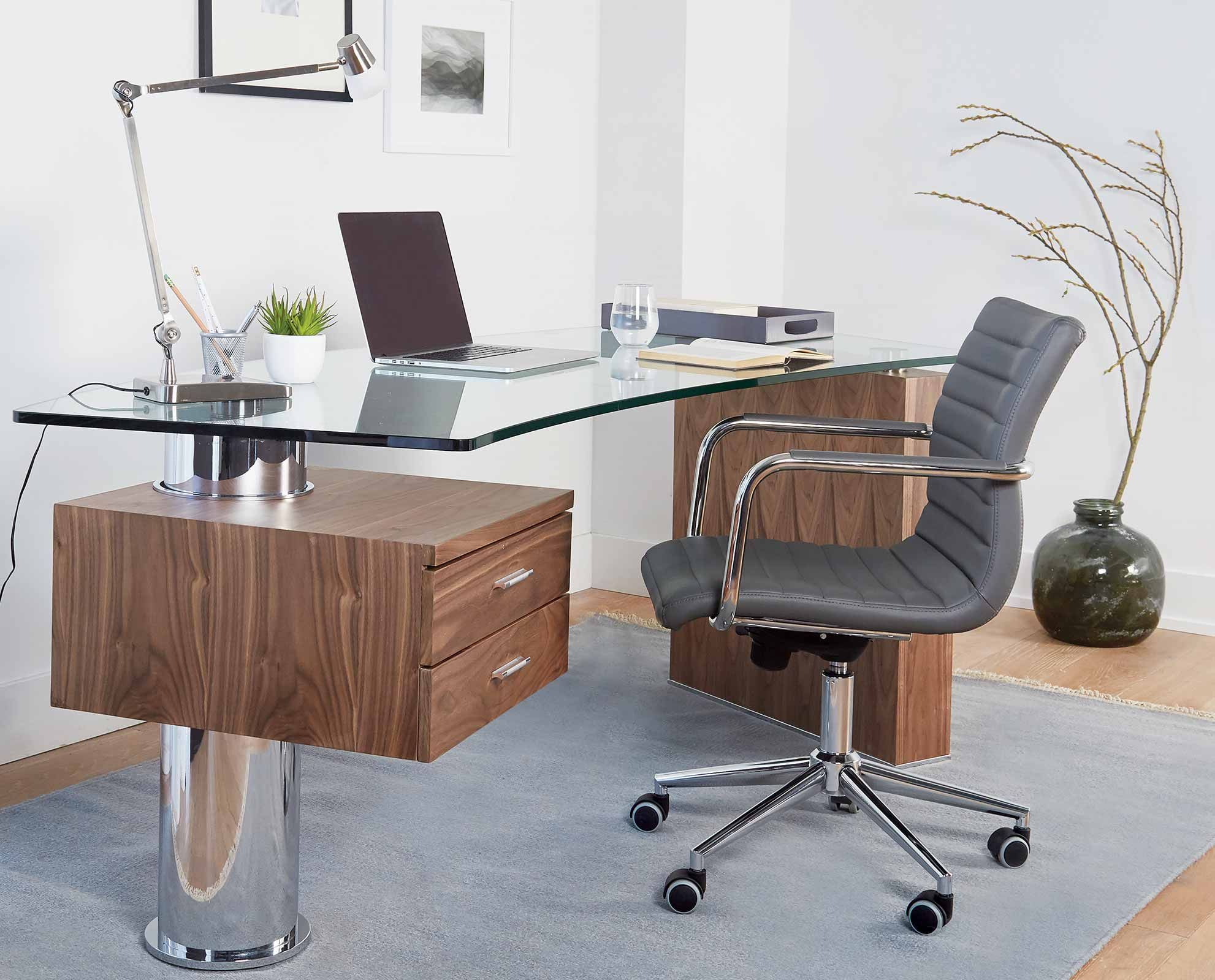 Knarvik Desk By Scandinavian Designs You Will Be Ahead Of The Curve When You Incorporate The Kn Scandinavian Design Desk Best Home Office Desk Work Space Decor