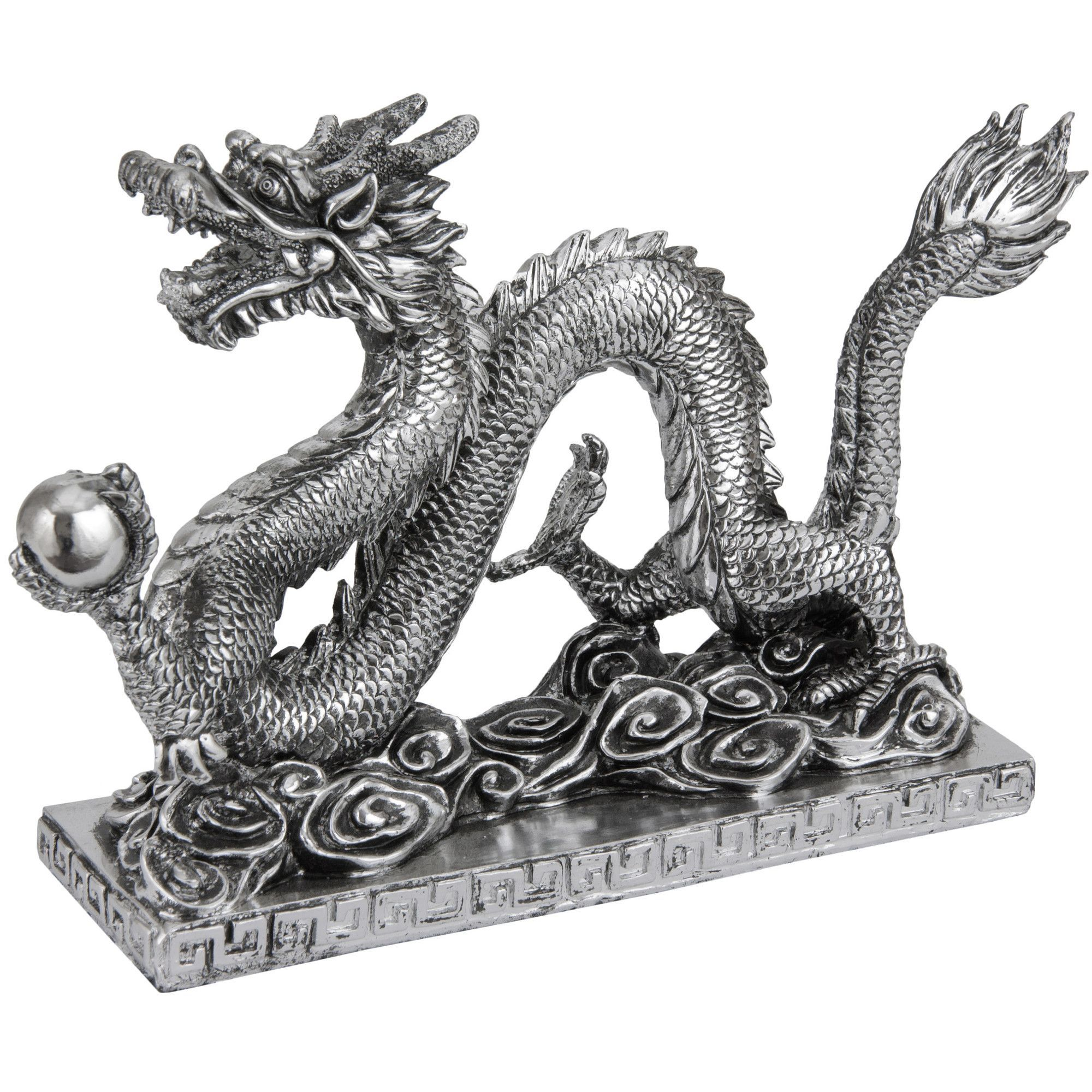 Features Chinese Collection Chinese Dragon Finely Sculpted  # Muebles Nemesis