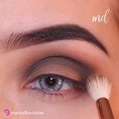 Photo of BROWN CHOCOLATE SMOKEY EYE LOOK  Try this chocolatey smokey eye look that is sub…