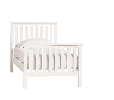 Elliott Full Loft Twin Bed Set Brushed Fog Products Bed