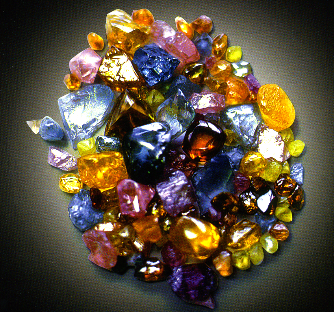 natural diamond colors