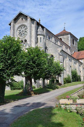 L'église Notre-Dame. Salmaise. Bourgogne