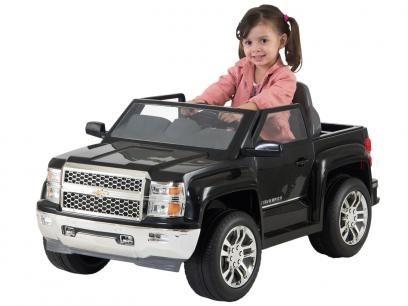 Carro Eletrico Infantil Pickup Chevy Silverado Com Controle Remoto Biemme Com As Melhores Condicoes Voce Encont Carro Eletrico Infantil Chevy Silverado Chevy