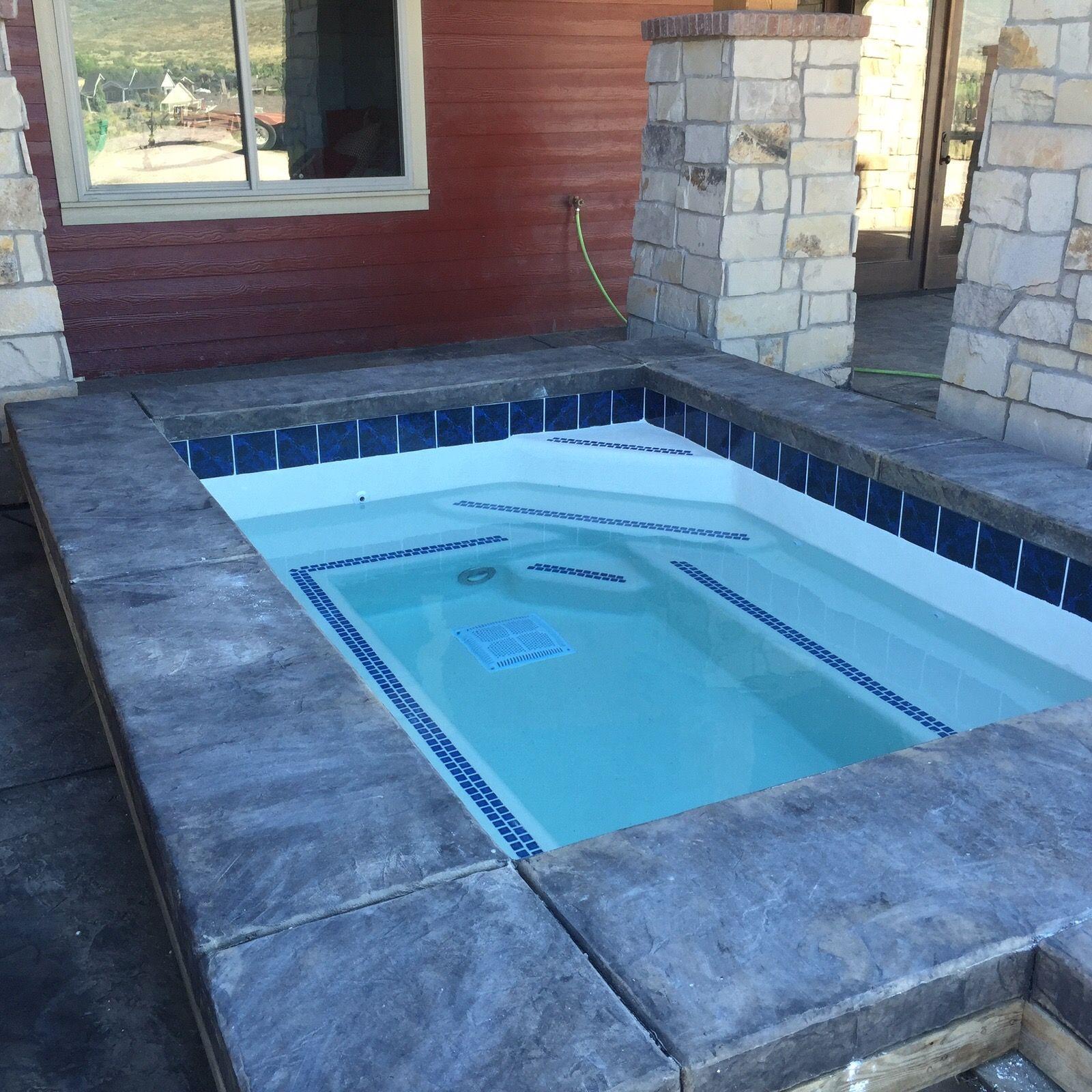 Custom spa install | All Seasons Hot Tub & Spa Installs | Pinterest ...