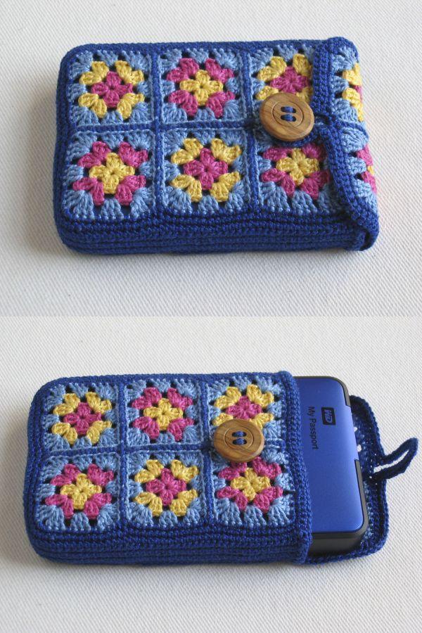 Leuk Voorbeeld Telefoonhoesje Met Kleine Granny Haken