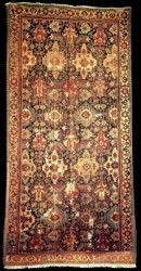 Pre-19th century antique Caucasian Kuba rugs, Early Kuba rugs, Azerbaijan
