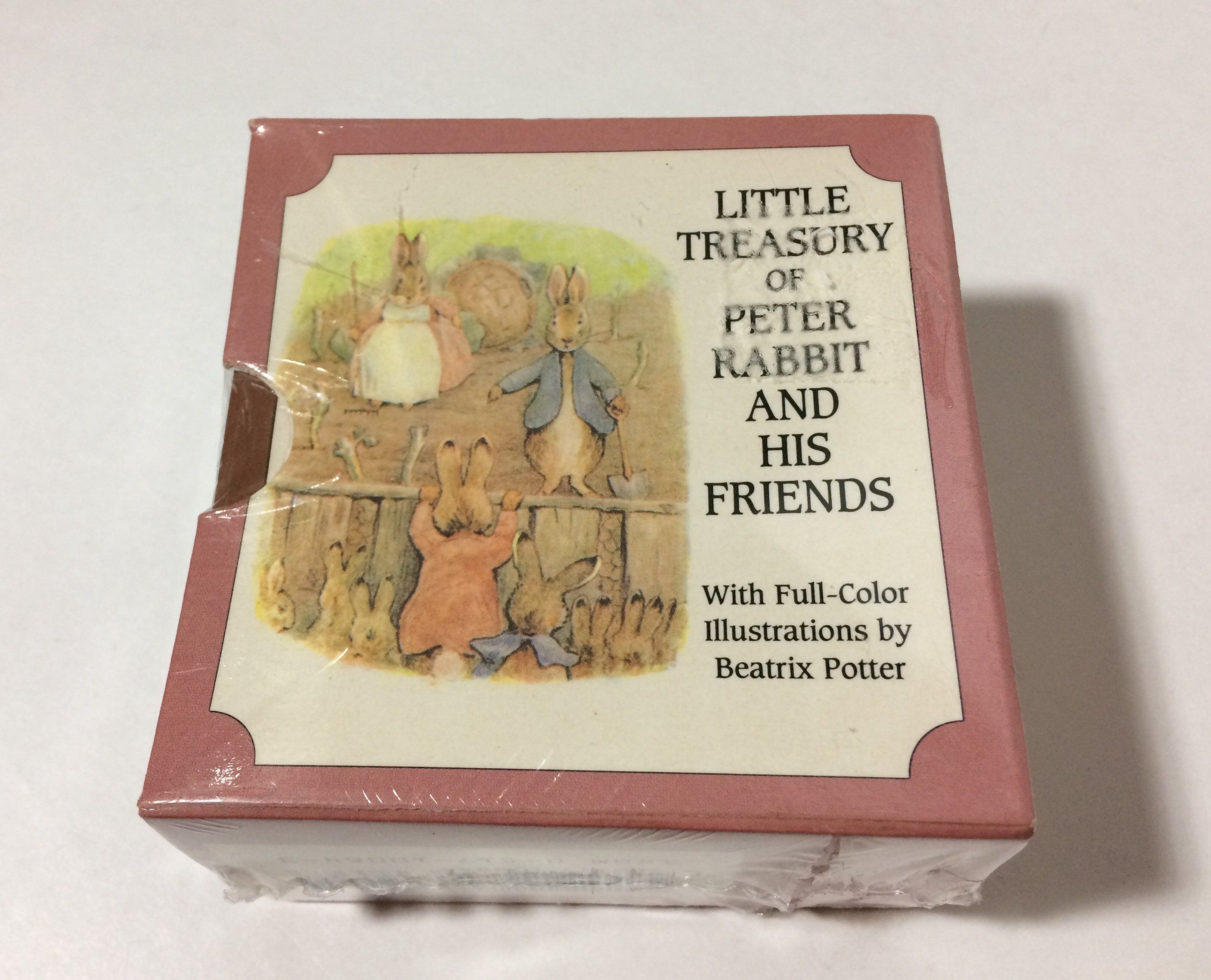 1994 set of 6 peter rabbit and his friends little treasury