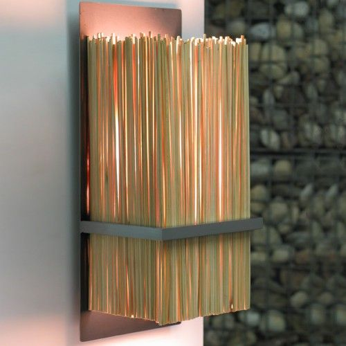 Bamboo Wall Sconce Light It Up Bamboo Wall Wall