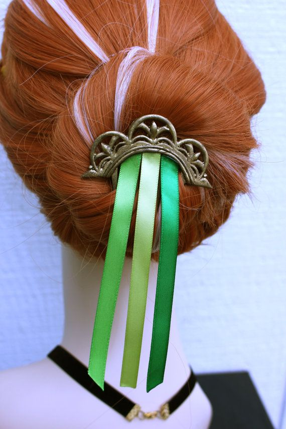 FROZEN inspired Anna Coronation Cosplay props by aishavoya on Etsy