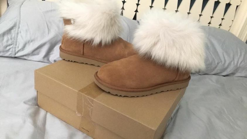 e25ee0fb100 chestnut brown Valentina UGG boots size 8 | Fashion and Apparel ...