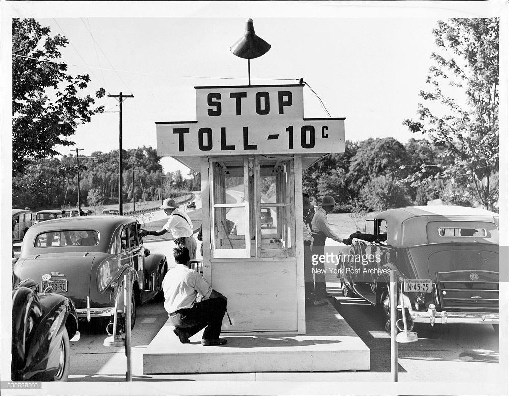 Toll Booth On The Merritt Parkway Merritt